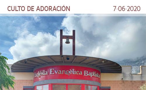 Culto de adoración. 7 de junio