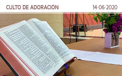 Culto de adoración. 14 de junio